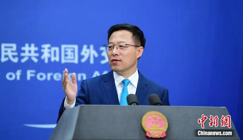 """赵立坚用""""两个五""""概括中国新冠肺炎疫苗研发进展"""