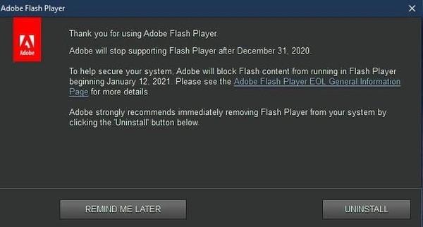 usdt第三方支付(caibao.it):Windows10将永远删除FlashPlayer:Adobe确认明年1月12日终结 第1张