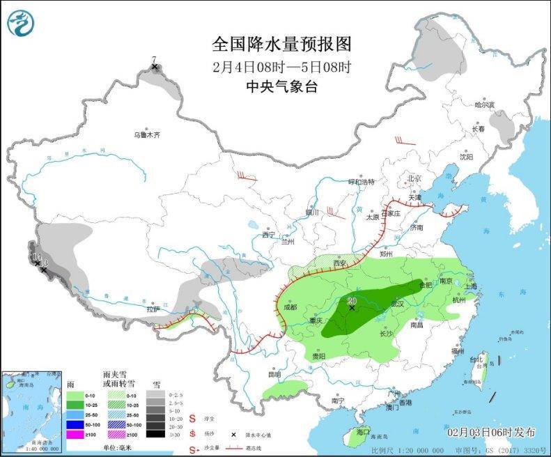 四川湖北湖南等地有大雾 局地能见度不足200米