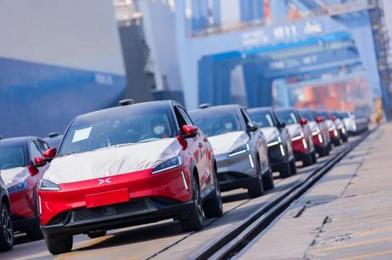 小鹏汽车:第二批小鹏G3启运欧洲