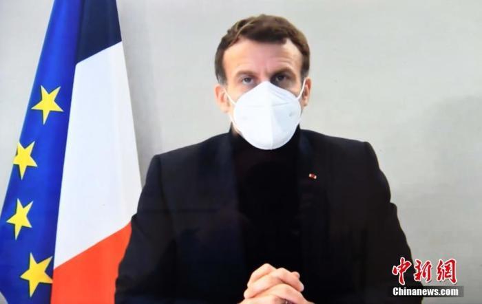 马克龙与谭德塞举行视频会晤 法国卫生部长接种疫苗