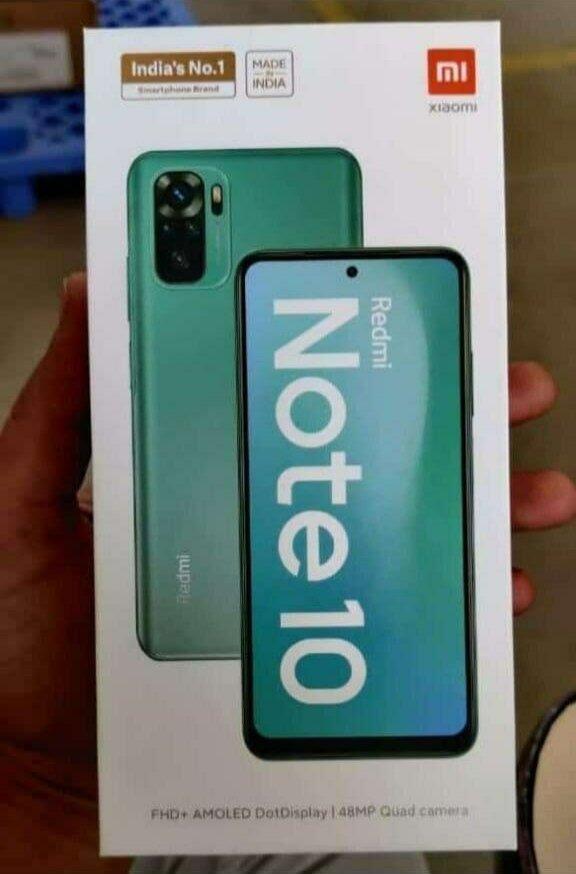 Redmi Note 10曝光:首次采用AMOLED挖孔屏