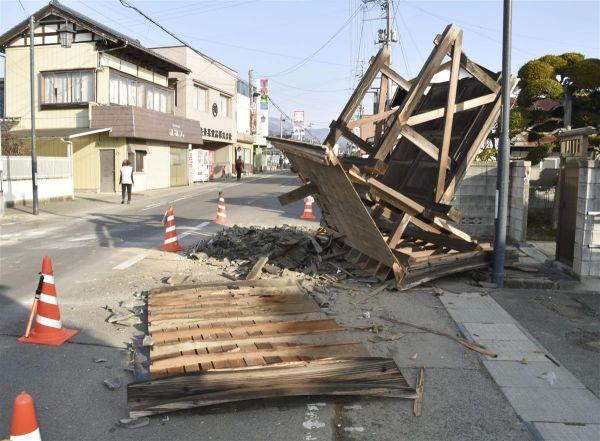 """日本举行""""3・11""""地震十周年追悼会 天皇、首相出席"""