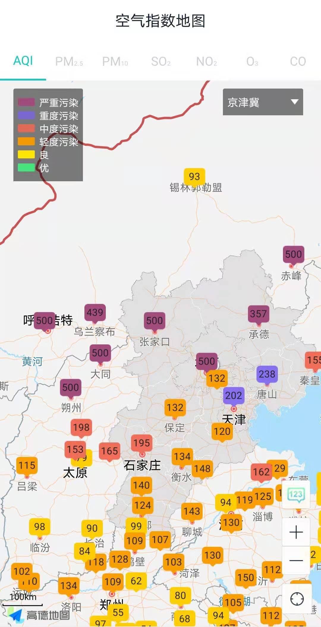 今年最强沙尘来袭,北京部分区域PM10超2000微克每立方米