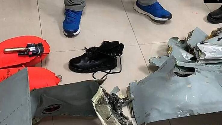 台军F-5E战机擦撞细节曝光:撞击力道可能极大,飞机空中碎裂