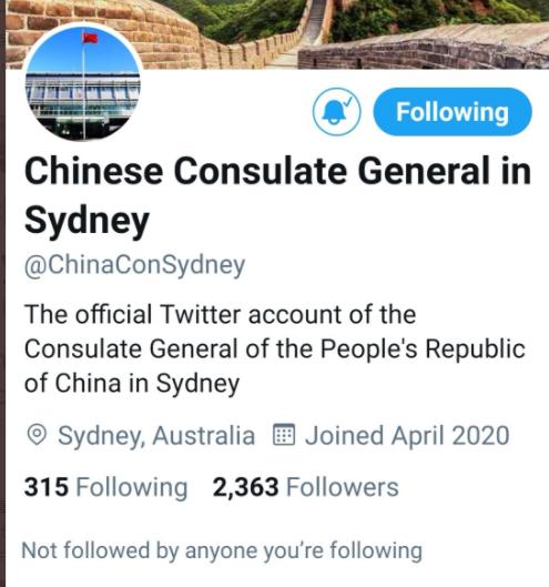 中国一重要驻外机构的社交账号,被突然封杀!