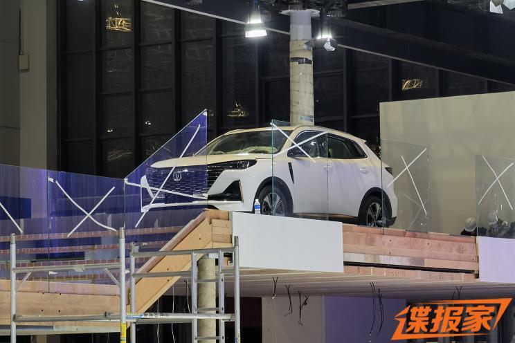上海车展探馆:第二代长安CS55PLUS