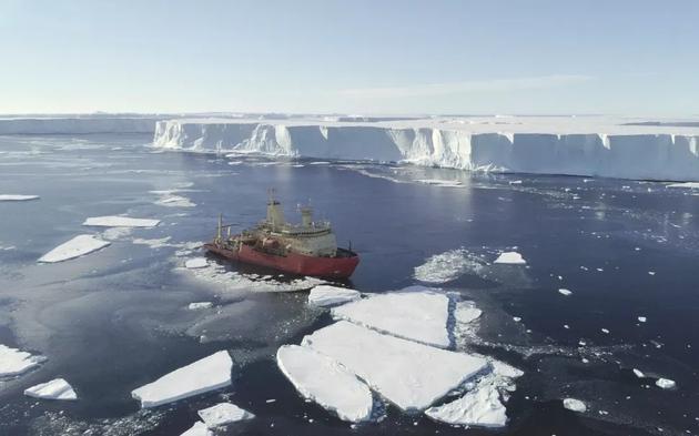 """无人潜艇发现,南极洲""""末日冰川""""恐将脱离大陆"""