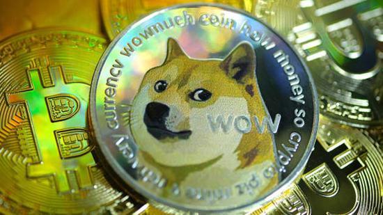 """""""狗狗币""""过去一周疯涨300% 引发数字货币泡沫担忧"""