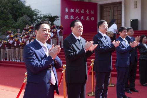 大亚集团荣获镇江市抗击新冠肺炎疫情先进集体荣誉称号