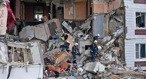 俄媒:俄罗斯一住宅煤气爆炸坍塌 已找到5名遇难者遗体