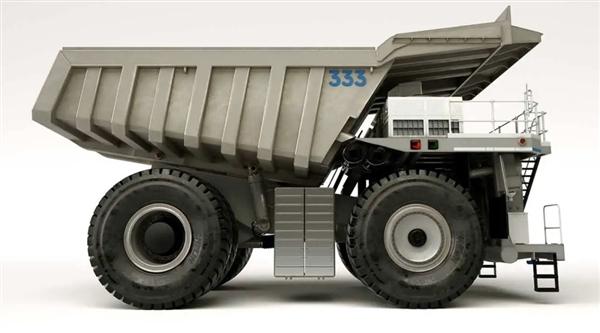 劳斯莱斯发布概念采矿卡车!油电混动 减少30%排放