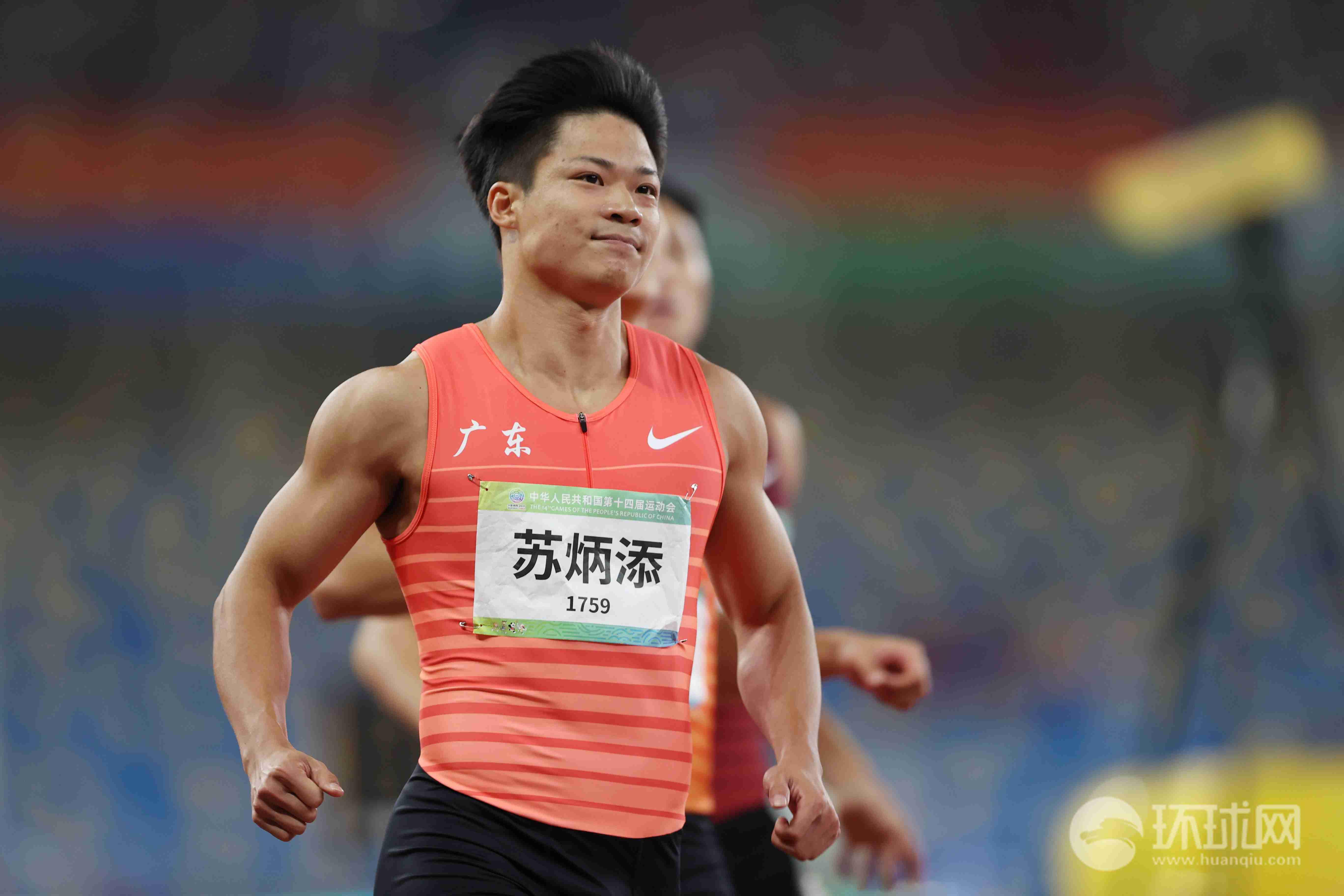 【图集】9秒95!苏炳添夺全运会男子100米冠军