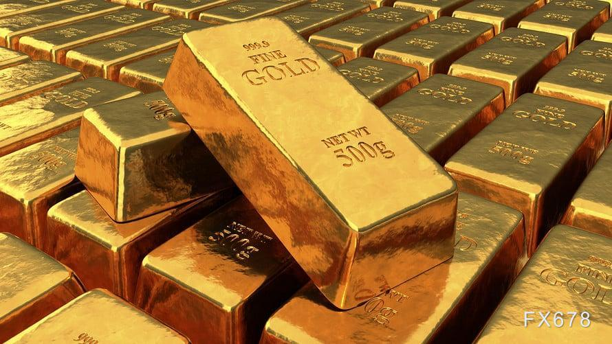 10月12日黄金交易策略:金价继续横盘,等待周三CPI数据出炉
